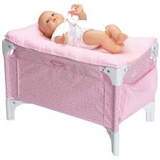Changing Table Accessories Pink Baby Doll Changing Table Playpen And Bed Combo Corolle V5785