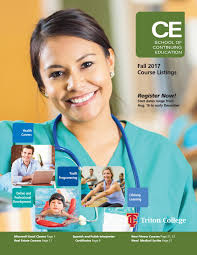 ce guide fall 2017 by triton college issuu