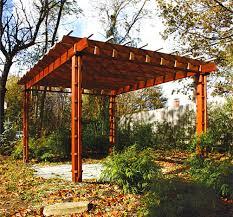 pergola styles trellised pergola no asp2 by trellis structures