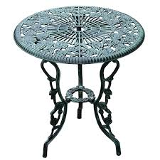 Cast Iron Bistro Table Iron Patio Table 3 Outdoor Cast Iron Patio Furniture Antique Style