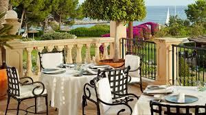 Outdoor Furniture Mallorca by Michelin Restaurant Es Fum The St Regis Mardavall Mallorca Resort