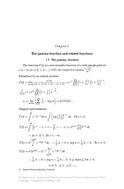 Playbill Wedding Programs Formulas And Theorems For The Special Functions Of Mathematical