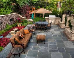 landscaping and patio design ideas rustic modern backyard house
