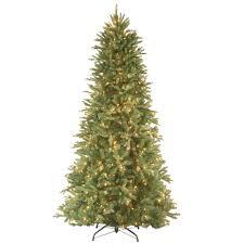 national tree company 7 1 2 ft feel real fir slim hinged