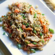 Main Dish Chicken Recipes - teriyaki chicken and rice use rotisserie chicken
