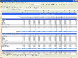 Excel Spreadsheet For Monthly Expenses Microsoft Excel Templates Monthly Expenses Laobingkaisuo Com