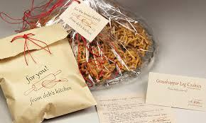 holiday cookie wrapping ideas kraft card stock u0026 twine