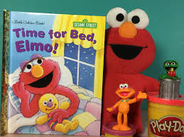 time for bed elmo another sesame street book granny b reads