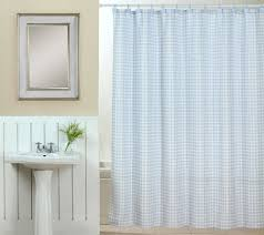 tim gunn collection gingham shower curtain set with hooks page 1