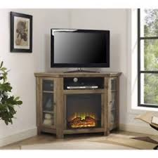 Electric Fireplace Entertainment Center Electric Fireplace Entertainment Center 52 Corner Rustic Tv Stand