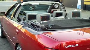 convertible lexus convertible lexus gs on 22 u0027s youtube