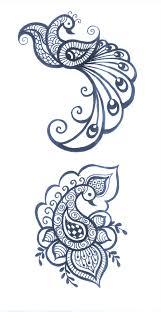 peacock symbolizes love beauty divinity royalty mehndi