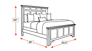 King Bed Dimensions Katy Brown Maple King Bed Gallery Furniture