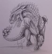 epic dragon sketch by agness sullenscrater on deviantart