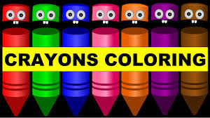 colors for children to learn with crayons color crew colours for
