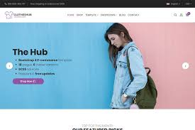 hub bootstrap 4 e commerce template 24 pages u0026 6 colours
