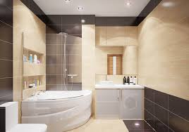 Newest Bathroom Designs Choosing New Bathroom Design Ideas 2016 Large Dark Brown Bathroom