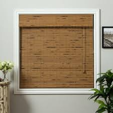 Where To Buy Roman Shades - arlo blinds rustique bamboo roman shade with 74 inch height free