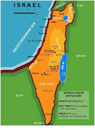 negev desert map land use prof