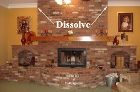 Trim Around Fireplace by 6 Crown Molding Buildup Around Brick Fireplace The Joy Of