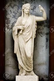 sculpture athene ancient greek mythology the goddess of wisdom