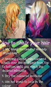 Halloween Hair Color Washes Out - 8 best hair ideas images on pinterest hair chalk hairstyles and
