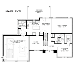 Patio Homes Floor Plans The Natalie Shuster Custom Homes Floor Plans