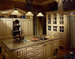 Country Kitchen Furniture Country Kitchen Cabinets Colors Home Design Ideas