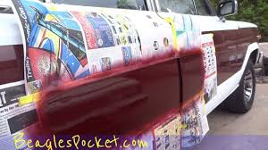 paint touch up car dings diy easy auto painting process 2