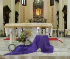 Church Altar Decoration For New Year by