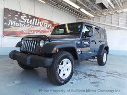jeep wrangler or jeep wrangler unlimited 2008 used jeep wrangler unlimited x at sullivan motor company inc