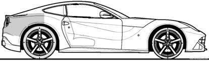 ferrari sketch the blueprints com blueprints u003e cars u003e ferrari u003e ferrari f12