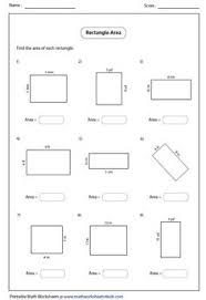 printable area worksheets 3rd grade printable area of parallelogram worksheet teacher stuff