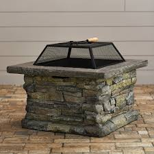 Ceramic Fire Pit Chimney - outdoor fireplaces