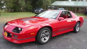chevy iroc camaro sold 1987 chevrolet camaro iroc for sale 2 family owners t