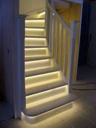 awesome stair lights indoor ideas kolakowski art info