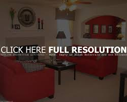 special red and beige living room decor on interior design ideas