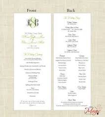 cost of wedding programs wedding ceremony programs just like a foldable my students make