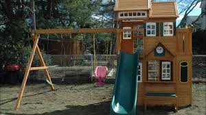 Costco Playground Cedar Summit Mount Forest Lodge Playset On Vimeo