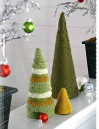 giving handmade woolen tree trio lark crafts