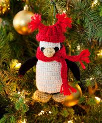 130 best penguin ornaments images on lightbulb