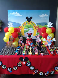 mickey mouse clubhouse party mickey mouse party decorating ideas project for awesome photo on