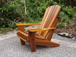 Adarondak Chairs Stylish Adirondack Wood Chairs A Pea Gravel Seating Area With