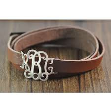 monogrammed bracelets custom monogram bracelet personalized leather bracelet alloy