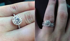 engagement ring vs wedding band difference between engagement and wedding ring engagement ring vs