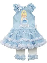 rare editions baby toddler girls light blue blond princess tutu