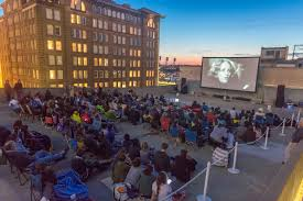 stars of the silver screen rooftop shindig the andy warhol museum