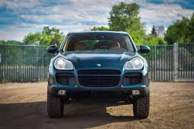porsche falken if you want to get lost in the woods buy this jacked up cayenne