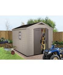 buy keter apex plastic garden shed 8 x 11ft at argos co uk