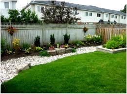 Landscaped Backyard Ideas by Backyards Chic Simple Backyard Landscape Backyard Landscape